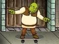 Shrek y el monopatín