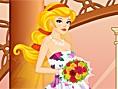 Anziehen für die Hochzeit