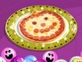 Jack-O-Lantern Pizza