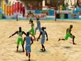 Strandfußball 3D
