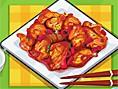 Chinesische Huhnspezialität