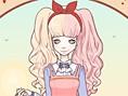 Süßes Mangagirl