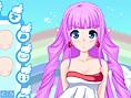 Hübscher Manga-Engel
