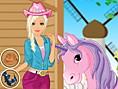 Cowgirl & Pferd-Styling
