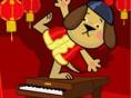 Perrito pianista