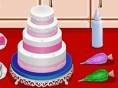 Schöne Hochzeitstorte