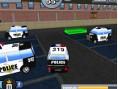 Polizeiautos Parken