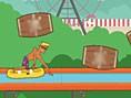 Schlauchboot- Parkour