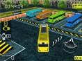 Bus Parken 3D - mit dem Bus in jede Parklücke! Wolltest du immer schon mal mit einem groß