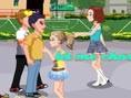 Flirt auf dem Schulhof