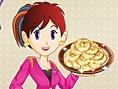 Sara ve Elmal? Çörek Oyunu Yemek Pasta Çörek Oyunlar? Merhaba k?zlar! Bu ara