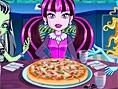Monster Halloween-Pizza