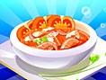 Tomaten- Fischsuppe