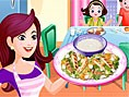 Tavuklu Sezar Salatas? Yemek Tarifi Oyunlar? Oldukça lezzetli olan tavuklu sezar salatas?na bay?laca
