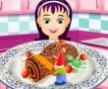 Frans?z Kütük Pasta Oyunu Pasta Tarifleri Oyunlar? Y?lba??n?n yakla?mas? ile Fransa'da