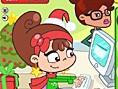 Faul an Weihnachten