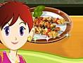 Sara ile Piknik Kebab? Oyunu Yemek Tarifi Oyunlar? Orjinal ad?Sara's Picnic Kabobs olan T&
