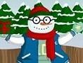 Schneemann anziehen Dem kleinen Schneemann ist kalt! Hilf ihm und finde passende Kleidungsstücke für