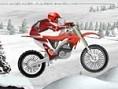 Pflüge mit Deinem Motorrad durch den Schnee und komme möglichst schnell ans Ziel der insgesamt 15 Le