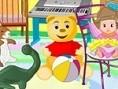 Teddybär Zimmer Was für eine Unordnung! Kannst du das Zimmer aufräumen, damit sich die Teddybären da