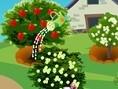 Fröhlicher Gärtner