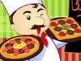 Köstliche Pizza Bist du ein super Pizzabäcker? Belege die Pizzen so schnell wie möglich, um viele Pu