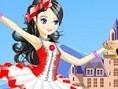 Balletttänzer anziehen