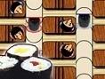 Das Sushi darf nicht bis zum Ende des Laufbands gelangen. Kannst Du Die Gäste strategisch gut platzi