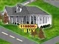 Kaufe und verkaufe Häuser zum richtigen Zeitpunkt, um Deinen Gewinn zu maximieren. Maus: Klicke zum