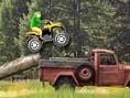 Rase mit Deinem Motorrad, Quadund Jeep über die verzwickten Wald- und Wiesenstrecken. Steuerun
