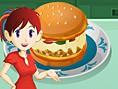 Saras Pizza Burger