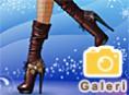 Ayakkab? Tasar?m Oyunlar? Orjinal ad? Shoes Designer: Winter Boots olan yeni bir resim galerisi oyun