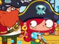 Faul als Pirat