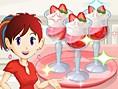 Saras Strawberry Parfait