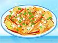 Asya Yemekleri Tarifi Oyunlar? Orjinal ad?Chicken Pad Thai olan bu Tayland'?n lezzetli yem