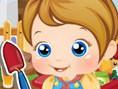 Bebek Bak?m Oyunlar? Orjinal ad?Baby Alice Gardening olan çok tatl? bir oyunla kar??n?zday?m. Bebi?