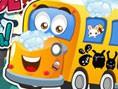 Okul Otobüsünü Yıka