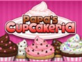 Papas Cupcakeria - manage den Cupcake-Laden! Papas Cupcakeria ist ein tolles Denkspiel, in dem du in