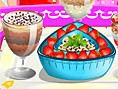 Süße Eis-Desserts