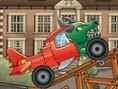 E?lenceli Araba Yar??? Oyunlar? Orjinal ad? Flugtag Racing olan bu e?lenceli araba yar??? oyununda a