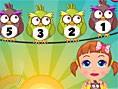 E?lenceli Matematik Oyunlar? Orjinal ad?Baby Seven Bird Cruncher olan Hazel bebek benzeri bu o