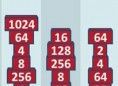 Neue Kostenlose Denkspiele spielen 2048 Bricks - In diesem kniffligenDenkspiel bringt ihr die