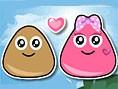 Neue Kostenlose Pou Spiele spielen Pou Lovely Kiss 2 - In diesem süßenPou Spiel m&u
