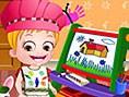 Neue Kostenlose Kinderspiele spielen Baby Hazel Learns Colors - In diesem süßenKinderspiel hat Baby