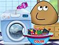 Neue Kostenlose Pou Spiele spielen Pou Washing Clothes - In diesem süßenPou Spiel i