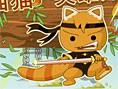 Ninja Oyunlar? E?itimini tamamlay?p ninja olarak dönen Kungfu Kedi ailesini kurtard? ve yeni ma
