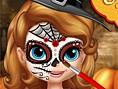 Neue Kostenlose Mädchen Spiele spielen Sofia Halloween Face Art - In diesem süßen&nb