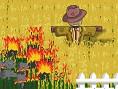 Neue Kostenlose Physikspiele spielen Burning Scarecrow - In diesem kniffligenPhysikspiel gilt es al