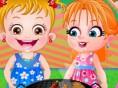 Neue Kostenlose Mädchen Spiele spielen Baby Alice Garden Party- In diesem süßen&nbsp