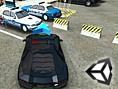 Neue Kostenlose Parken Spiele spielen Skill 3D Parking: Police Station - In diesem tollenParken Spi